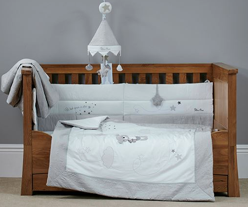 Silver Cross Wish Upon a Star Bedding