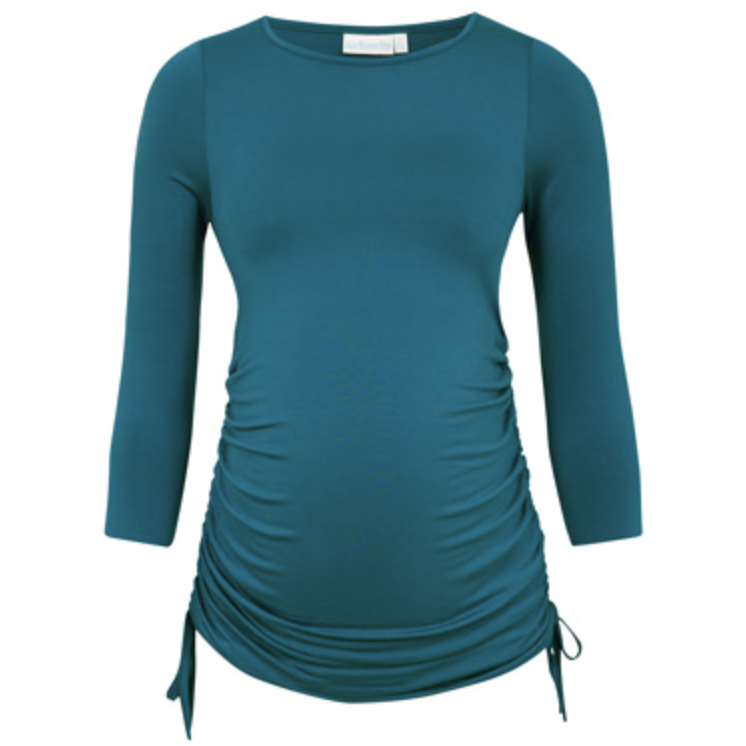 JoJo Adjustable Rouched Maternity Top