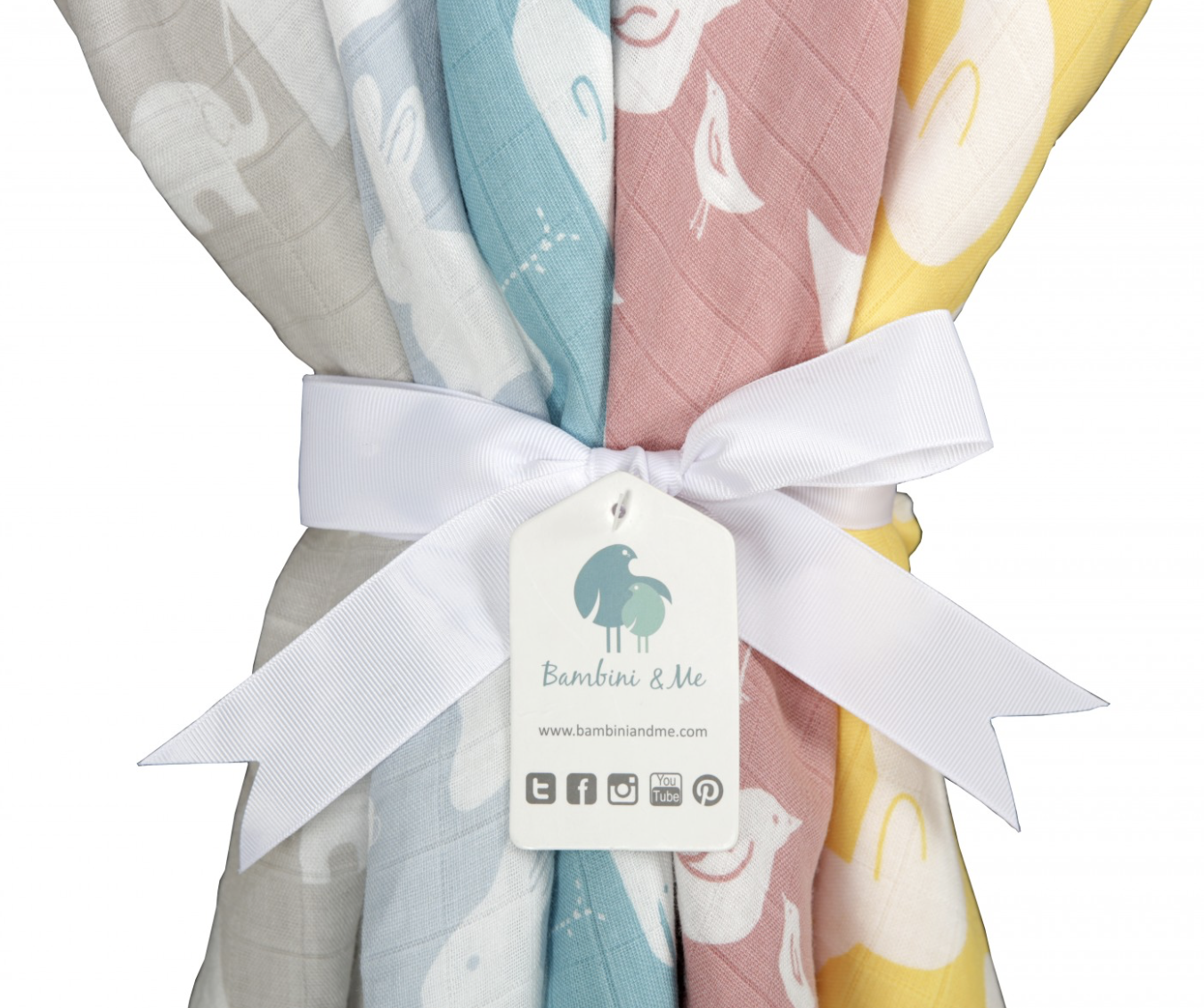 Bambini and Me Muslin Swaddle