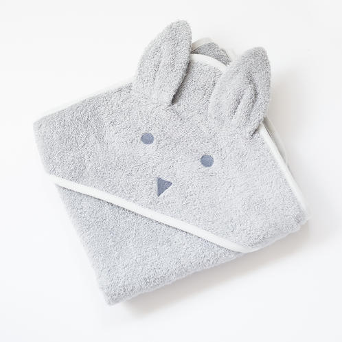 Beau Bunny Hooded Towel