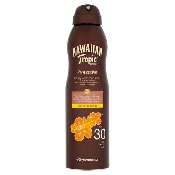 FOR MUM & DAD Hawaiian Tropic Oil Spray SPF30