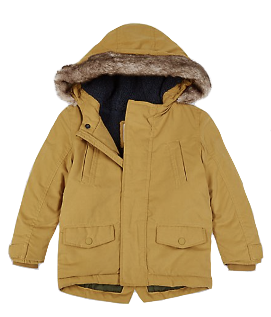 M&S Faux Fur Parka