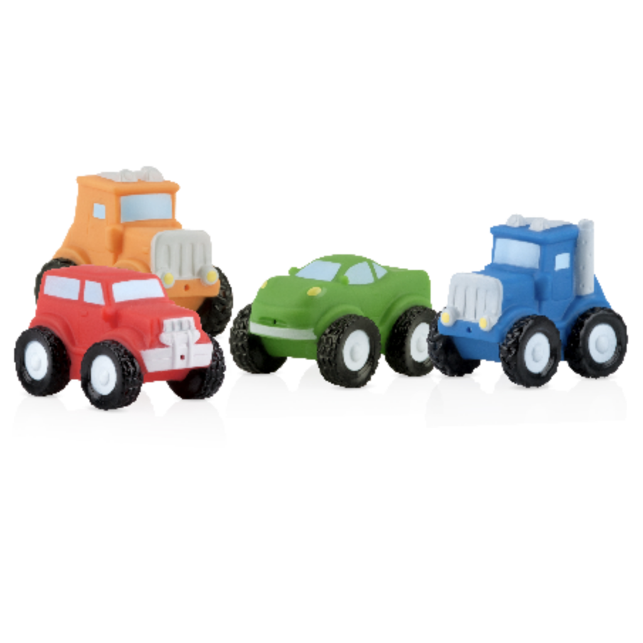 Nuby Squirter Bath Time Vehicles